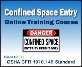 Enroll in our 8-hour OSHA Confined Space Entry Training Online Course.