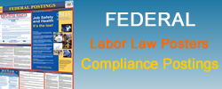 Purchase federal labor law posters