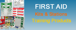 Purchase first aid kits and training products