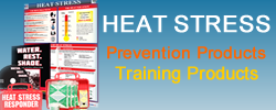 Purchase heat stress prevention posters and products