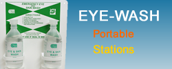 Purchase Portable Eye Wash stations and kits