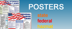 Purchase state and federal labor law posters